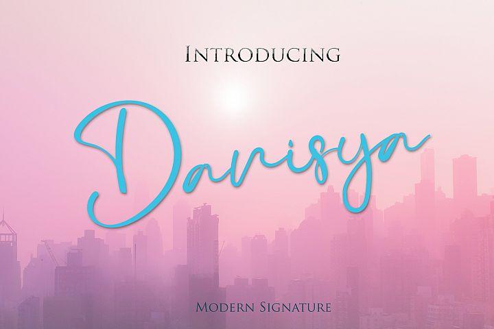 Danisya Modern Signature