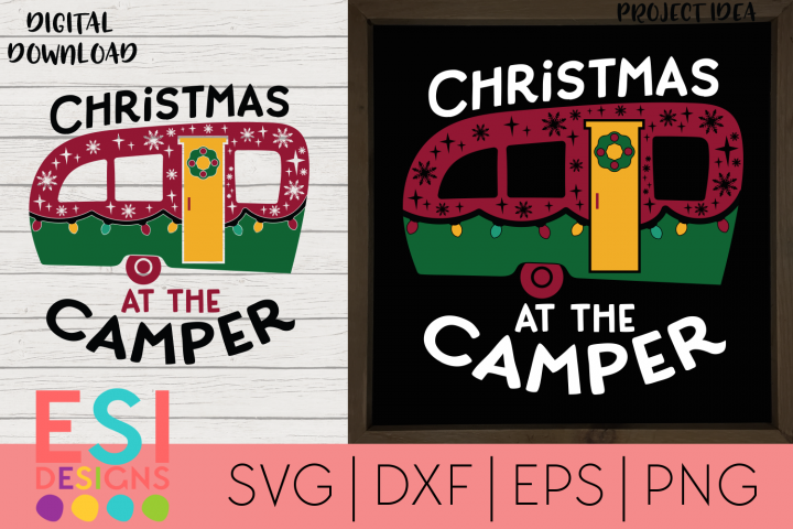 Christmas SVG | Christmas at the Camper | Wood Sign SVG