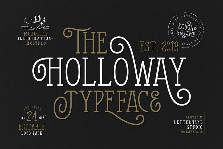 The Holloway Typeface and EXTRAS