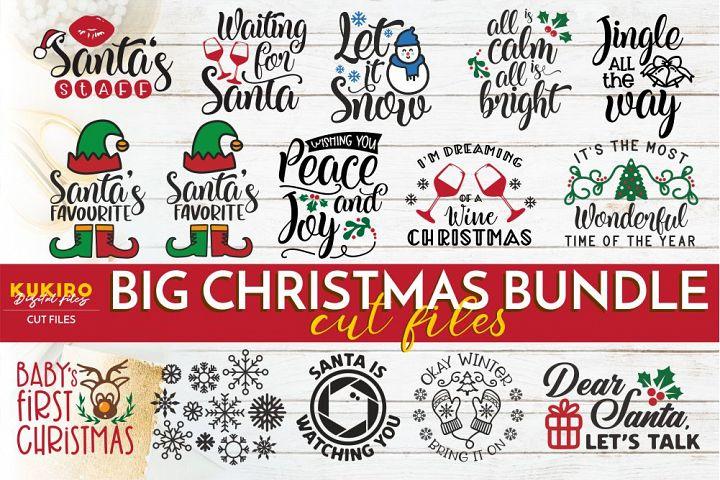 BIG Christmas SVG Bundle - Christmas kids - Winter Cut files