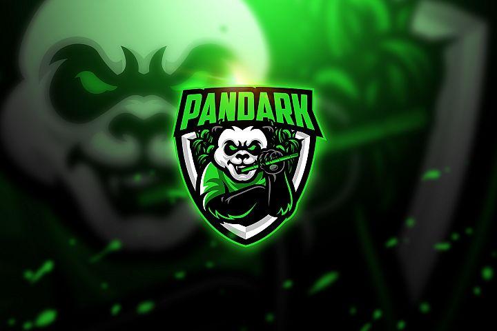 Pandark 3 - Mascot & Esport Logo