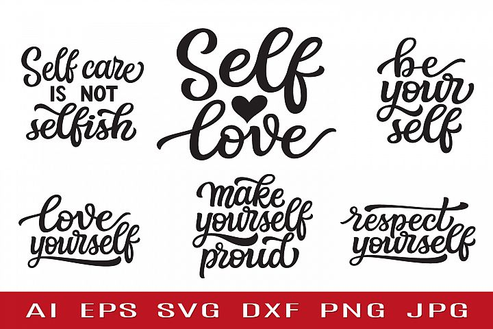 Self Love SVG bundle