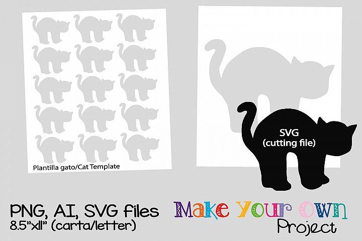 Cat SVG shape
