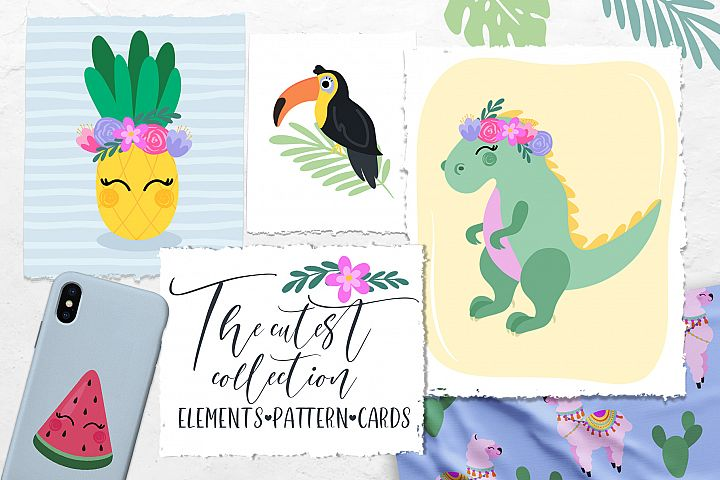 The Cutest collection. Illustrations
