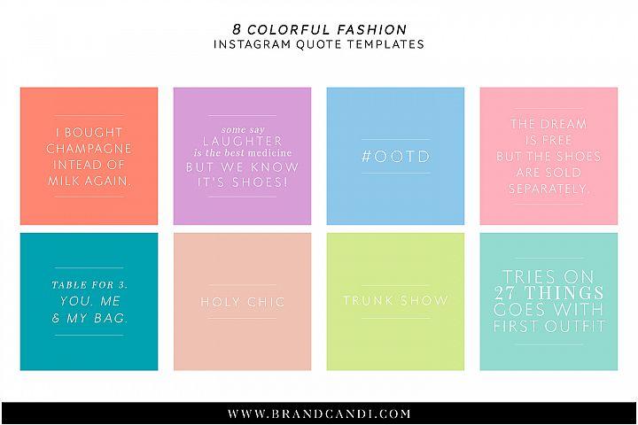 Fashion Social Media Templates