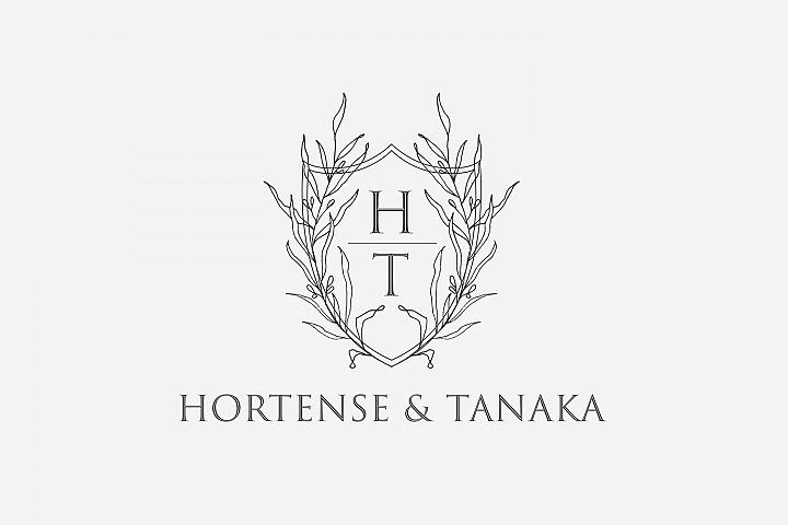 Floral Wedding Logo