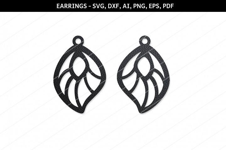 Drop earrings svg,Jewelry svg,Cricut files,silhouette files