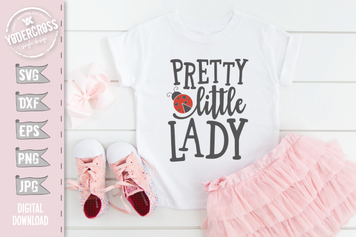 Pretty Little Lady SVG
