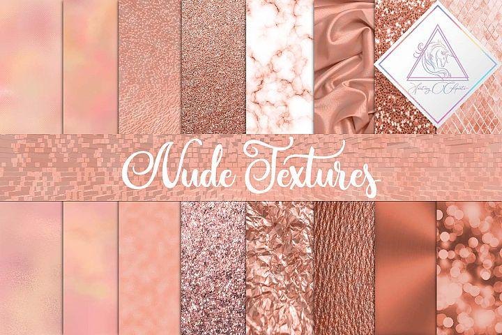 Nude Textures Digital Paper