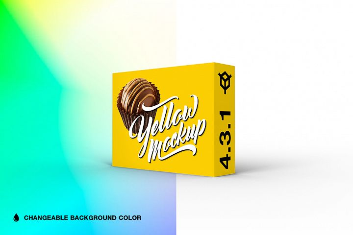 4.3.1 Simple 3D Box Mockup PSD