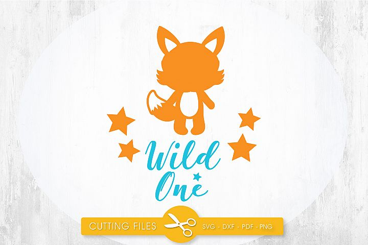 wild-one cutting files svg, dxf, pdf, eps included - cut files for cricut and silhouette - Cutting Files SG
