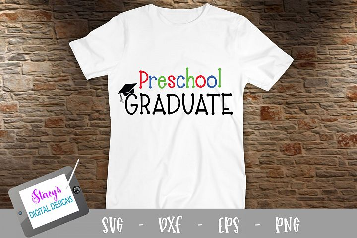 Preschool Graduate SVG - Graduation SVG