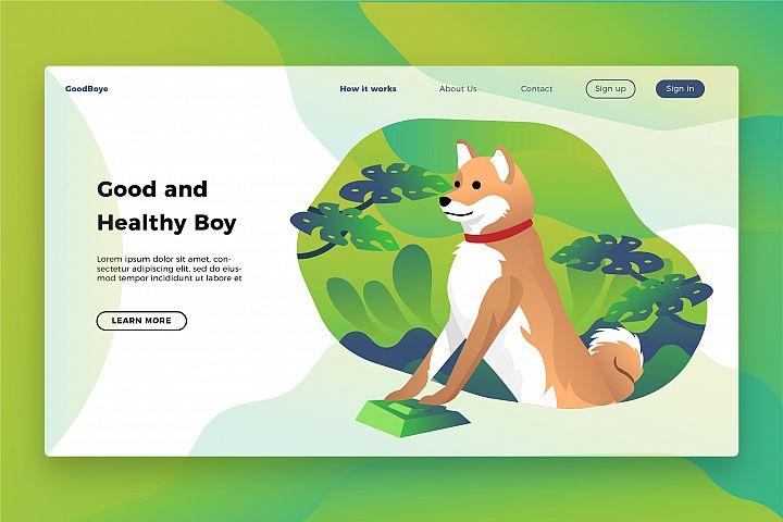 Shiba Inu - Banner & Landing Page