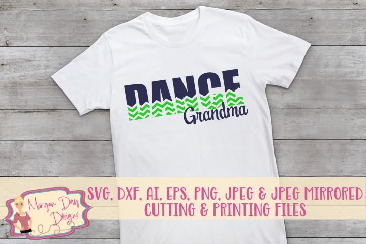 Dance Grandma SVG, DXF, AI, EPS, PNG, JPEG