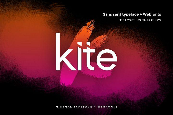 Kite - Modern Typeface WebFonts