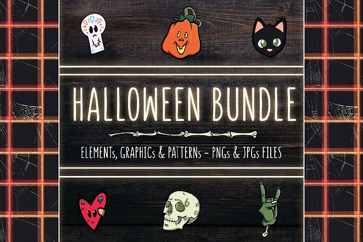 HALLOWEEN BUNDLE - Illustrations and Patterns