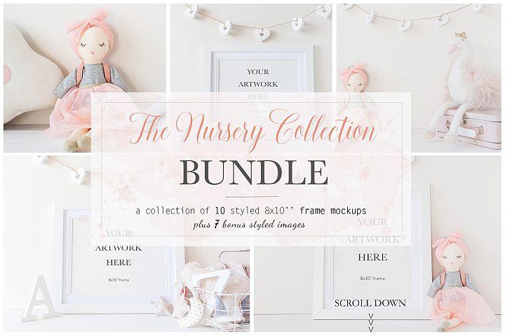 Nursery 8x10 Frame Mockup Bundle - bnd009