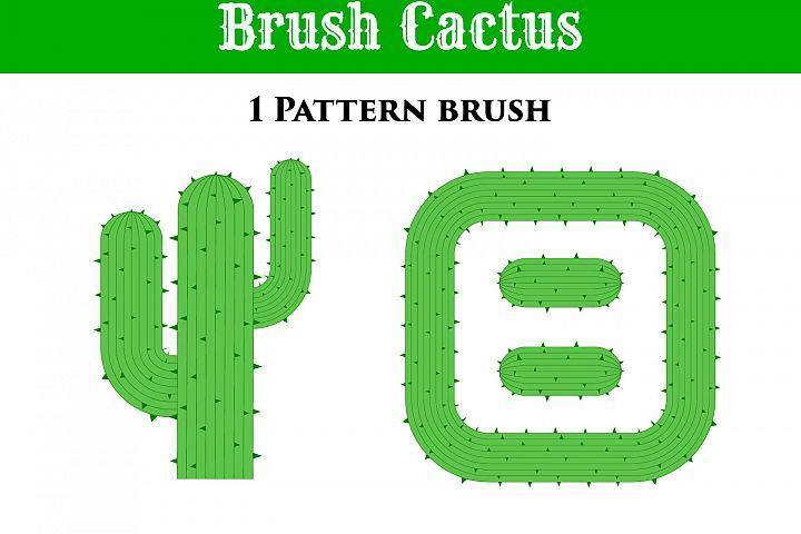 Pattern Brush Cactus Illustrator