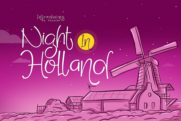 Night in Holland