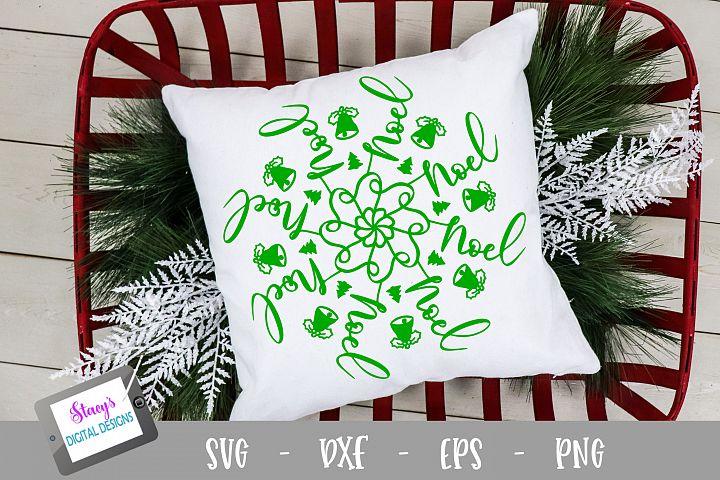 Mandala SVG - Noel mandala svg - Christmas SVG