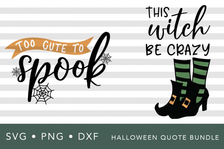Halloween SVG Quote Bundle