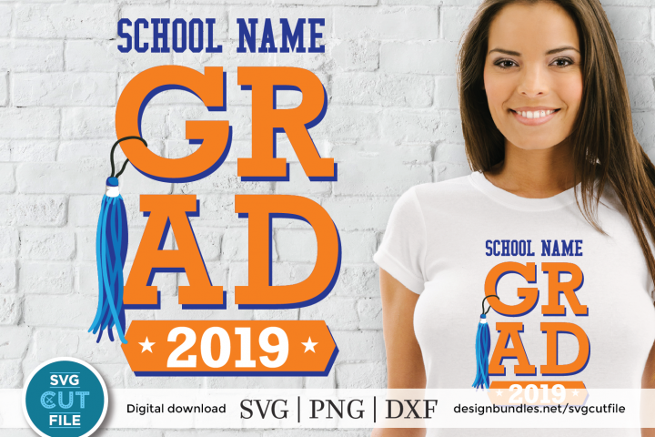 Graduation svg, class of 2019, 2019 grad svg, senior svg
