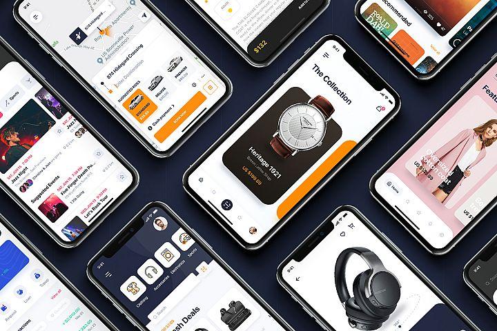Pallas - Multipurpose iOS UI Kit