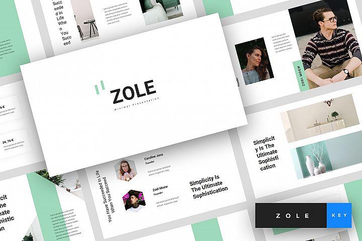 Zole - Minimal Keynote Template