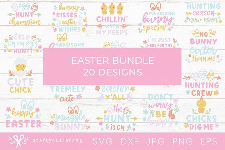 Easter Svg Bundle Cute Shirt Svg Bundle 20 designs DIY