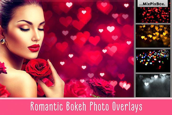 Romantic Bokeh Photo Overlays