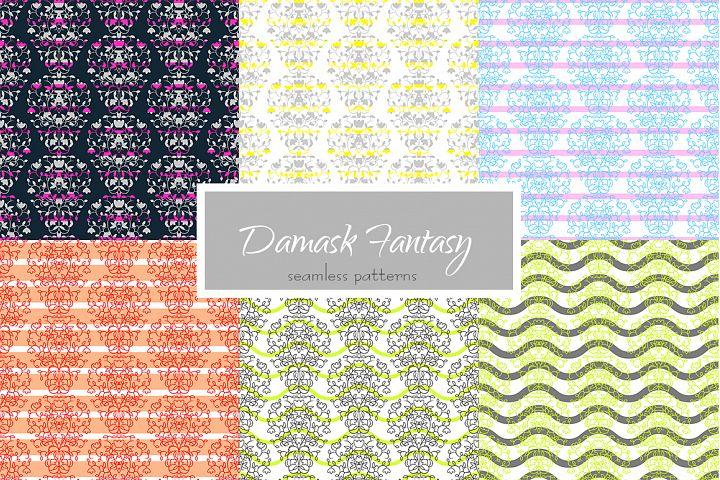 Damask Fantasy Patterns