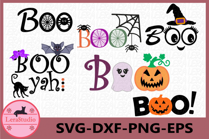 Boo Svg, Ghost svg, Pumpkin Svg, Halloween svg, Halloween
