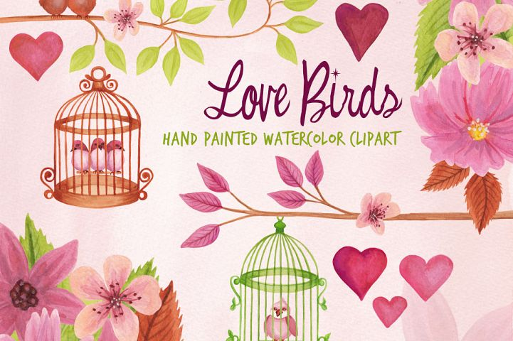Love Birds and Birdcages
