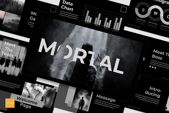 Mortal - Google Slides Template