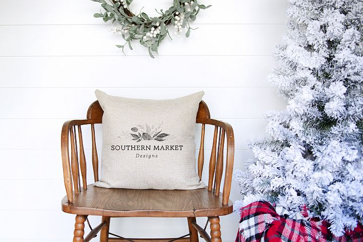Christmas Mockup | Pillow Mockup | Mockup | Throw Pillow Moc