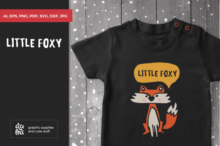 Fox SVG, Baby Fox, Scandinavian nursery, Animals, Newborn