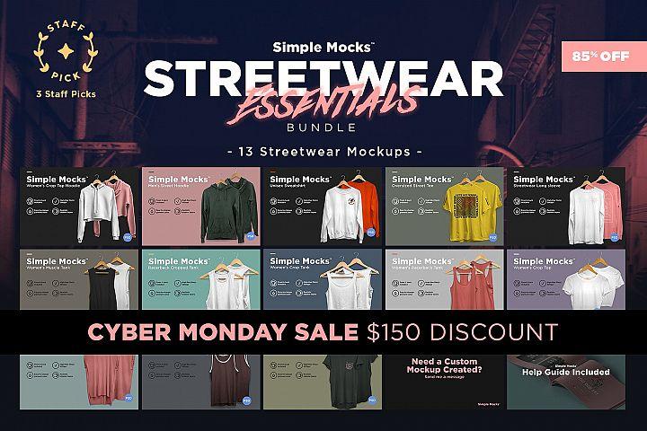 Streetwear Essentials Mockup Bundle