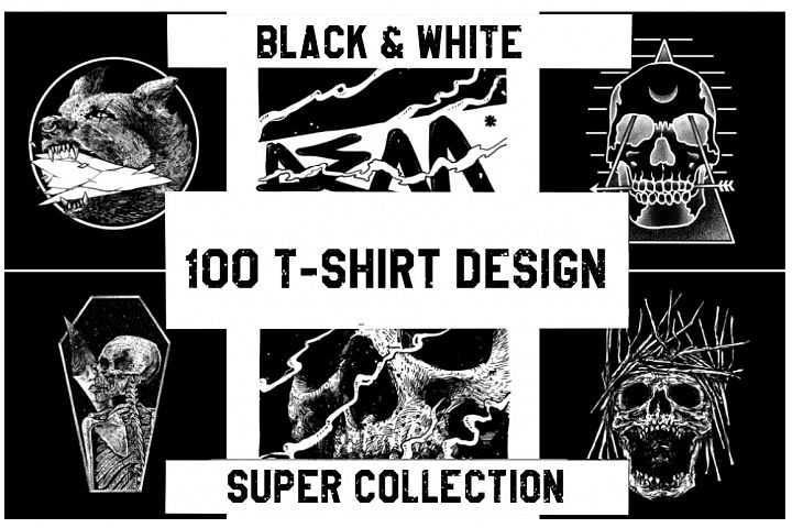 T-Shirt Design Super Collection - Discount
