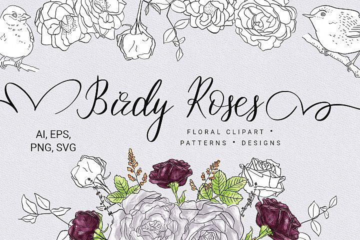Birdy Roses Collection
