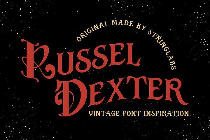 Russel Dexter - Retro Vintage Script Font