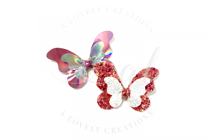 BUTTERFLY Bow | Hair Bow Digital Template 3 Styles