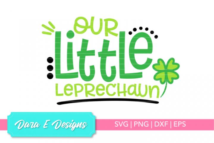 Little Leprechaun SVG | St Patricks Day SVG | Luck Shirt Des