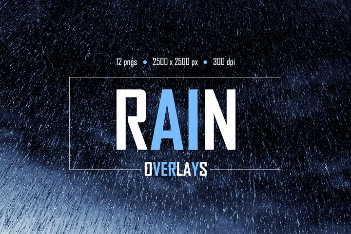 Rain Overlays example