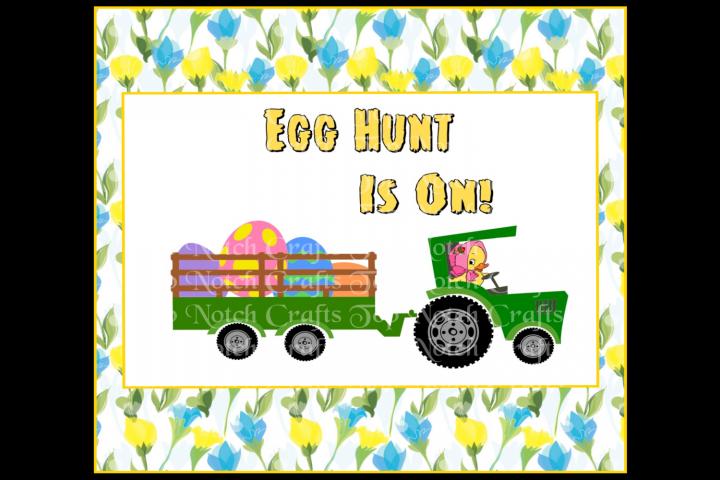 Easter Design File, Egg Hunt Is On!