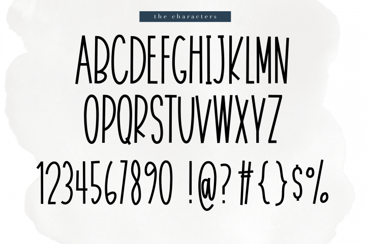 November - A Tall Handwritten Font - Free Font of The Week Design4