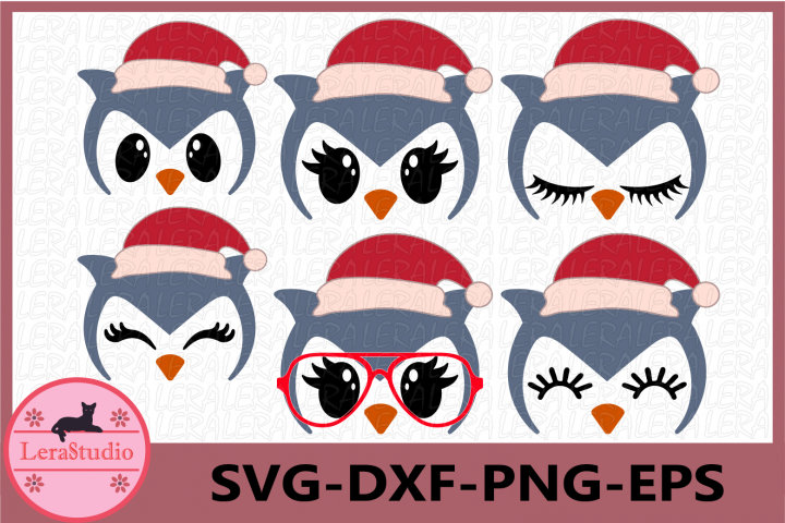 Owl Face SVG, Christmas svg, Owl Eyelashes Svg,Owl Christmas