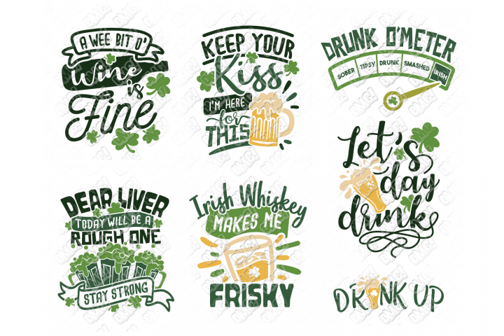 St Patricks Day Drinking SVG in SVG, DXF, PNG, EPS, JPEG