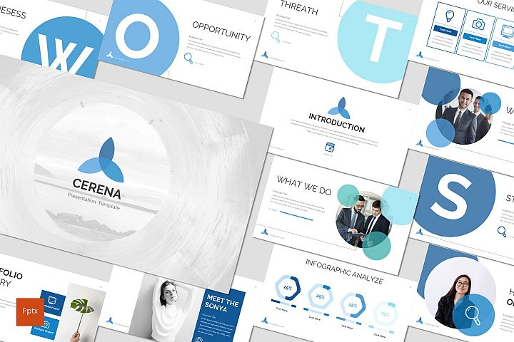 Cerena - Powerpoint Template
