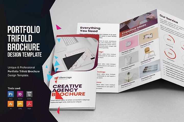 Portfolio Trifold Brochure Design v3