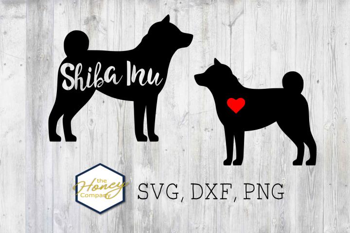 Shiba Inu SVG PNG DXF Dog Breed Lover Cut File Clipar